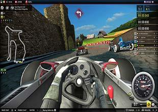 لعبة قيادة وسرعة