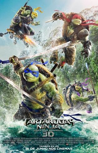 As Tartarugas Ninja - Fora das Sombras - pôster nacional