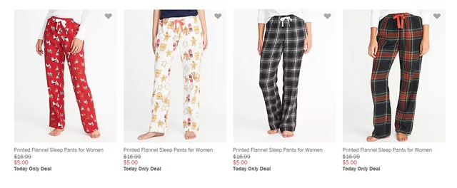 old navy sleep pants