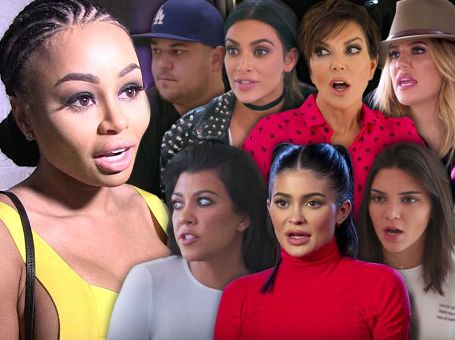 Blac Chyna alleges that the Kardashians threatened to remove KUWTK from E! if her show wasn't cancelled