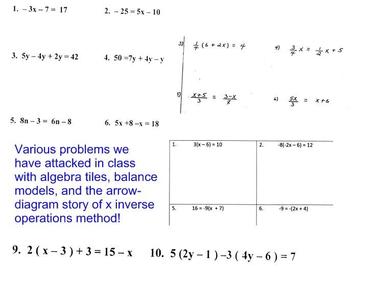 Math Problems For 9th Graders Worksheets  grade math word