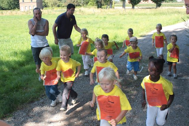 1ère édition du jogging junior: les 3-4 ans
