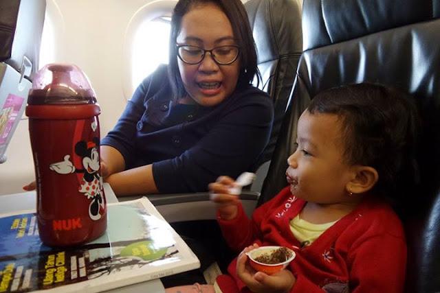NUK di pesawat