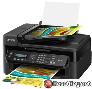 Reset Epson WorkForce WF-2530 printer Waste Ink Pads Counter