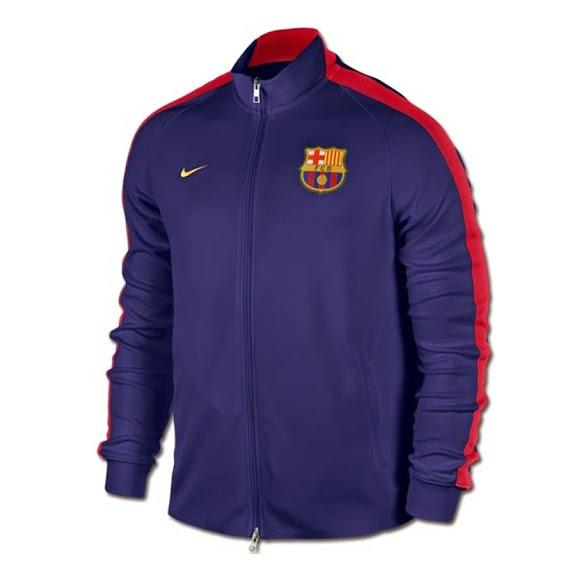 Jaket Barcelona Home 2014-2015