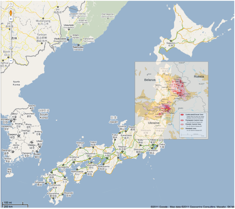 Early Warning: Chernobyl as a Worst Case for Japan