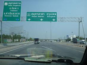 Photo: Blížíme se k Bangkoku.