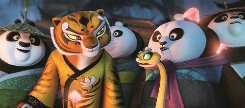 Angelina Jolie Pitt back in KUNG FU PANDA 3 as Tigress