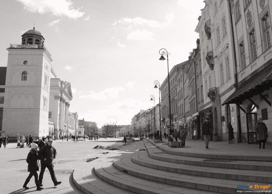 Warszawa - widok na krakowskie przedmieście