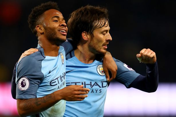 Manchester United Raheem Sterling And Silva