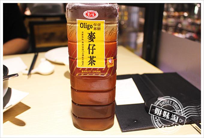 高雄MLD 海鮮大排檔麥茶60元