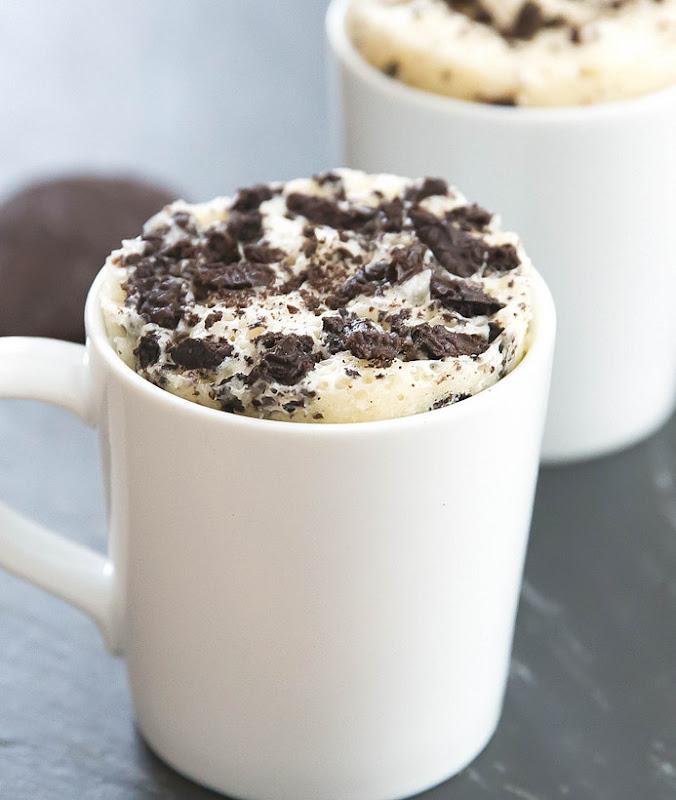 photo of Skinny Cookies and Cream Mug Cake