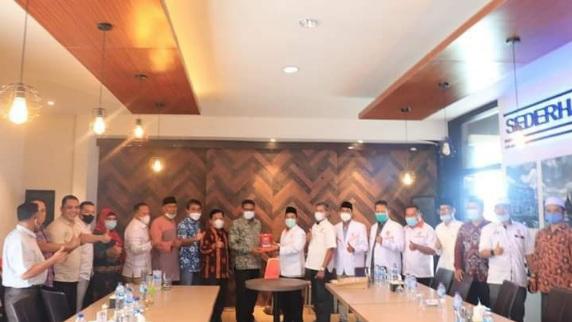 Soal Pertemuan PKS dan Gerindra, Mastilizal Aye Bantah Bicarakan Kursi Wakil Wali Kota Padang