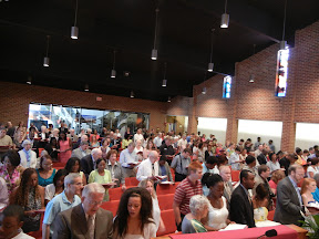 Thank you to Rev. Ginger for coordinating such a beautiful and meaningful service for our 2012 Confirmation