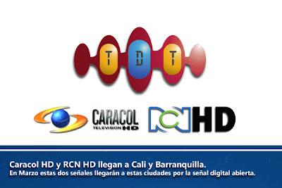 La Televisión Colombiana en HD Llegará a Cali y Barranquilla