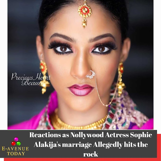 Reactions as Nollywood Actress Sophie Alakija's marriage Allegedly hits the rock