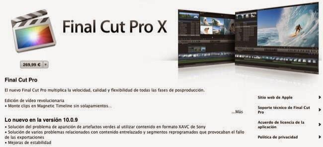 Actualización de Final Cut Pro X, cada vez más cerca la nueva versión que verá la luz junto al Mac Pro