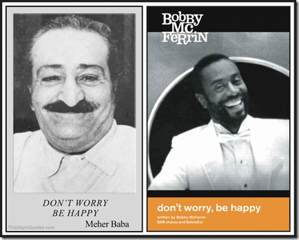 Meher Baba & Bobby McFerrin, Don't Worry Be Happy WM