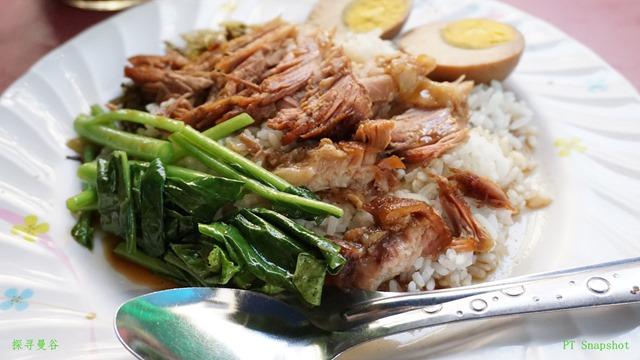 泰国的猪脚饭