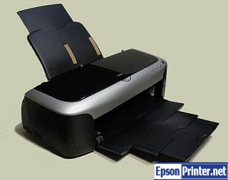 How to reset Epson 2200 printer