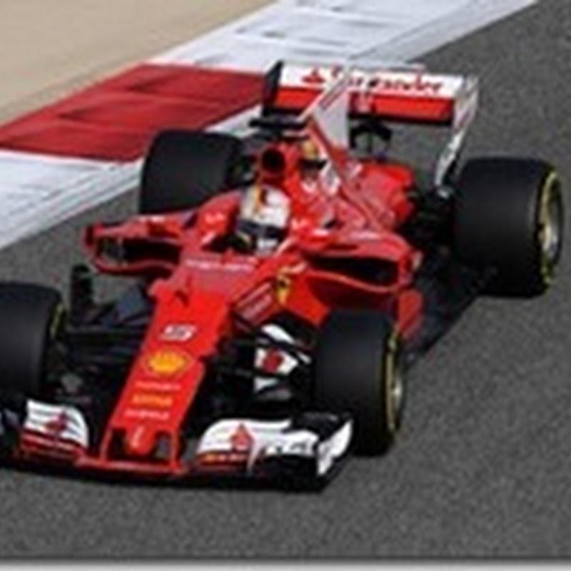 GP del Bahrain: Nelle libere il più veloce è Vettel