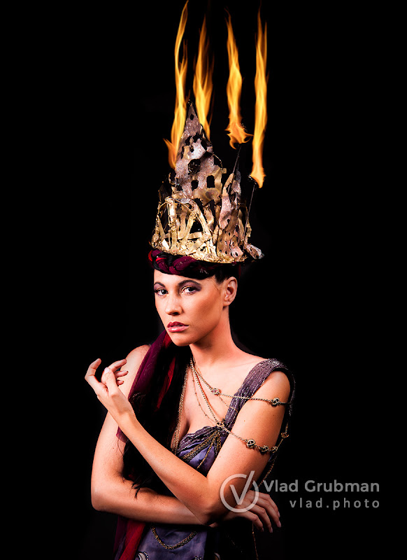 Fire Queen - Photography by Vlad Grubman / ZealusMedia.com
