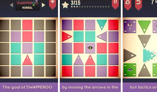 Swapperoo Android Bulmaca Oyunu İndirimde Acele Edin