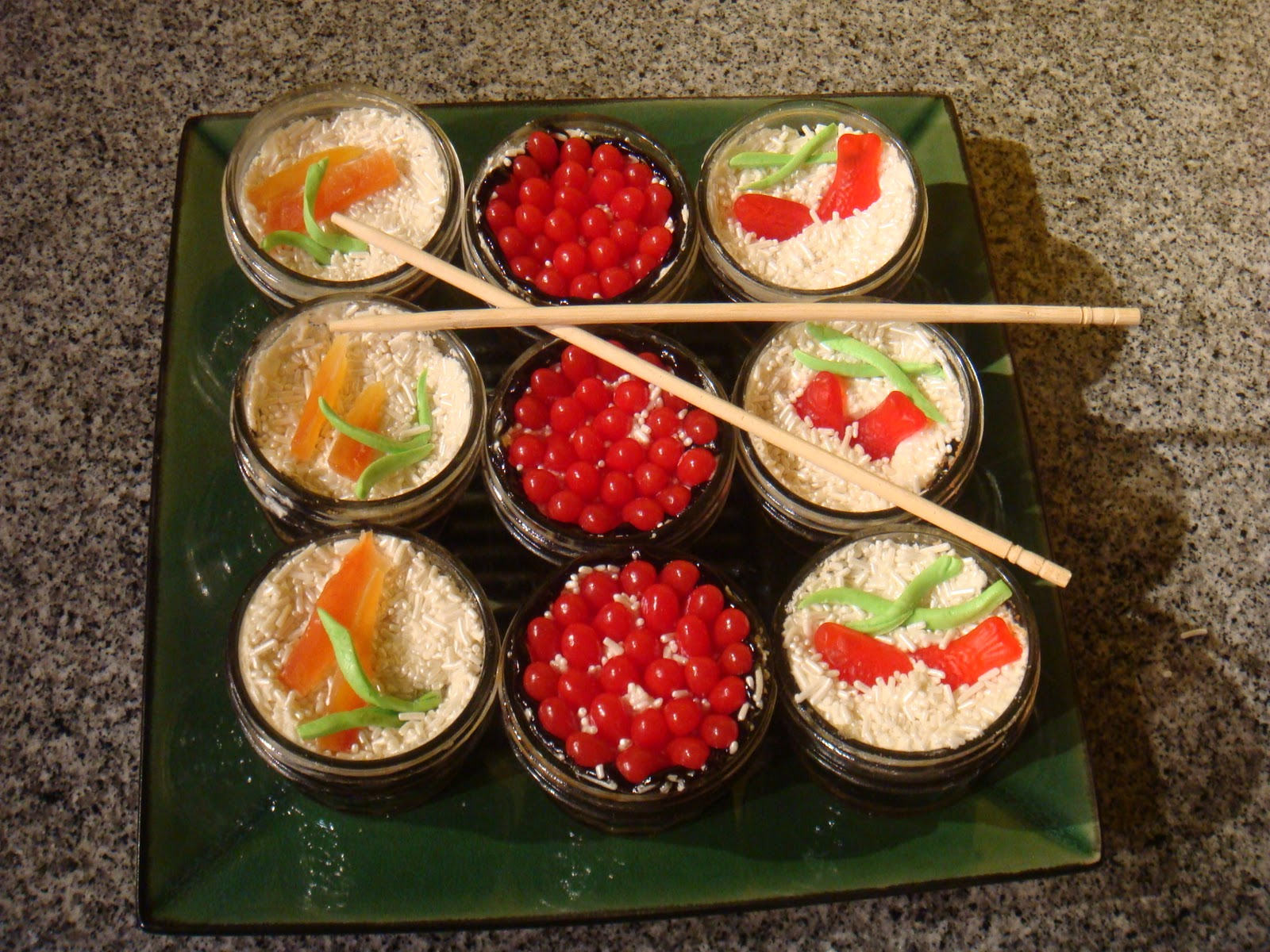 Cost To Ship Car Across Country >> Sweet of the Week #9i, Sushi cupcakes with Candied Nori and a bonus recipe! - In Johnna's Kitchen