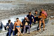 1973 г. Крым, Веселое, секция подводного плавания ХАИ