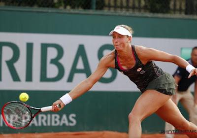 Yanina Wickmayer verliest in eerste ronde Roland Garros van Samantha Stosur