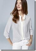 The White Company ombre silk blouse