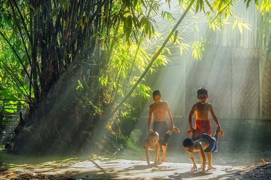 nhữngkỷ niệm thời thơ ấu nơi làng quê