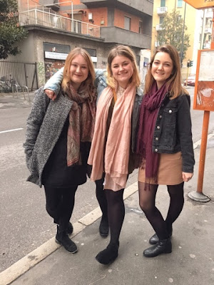 Three musketeers in Milan