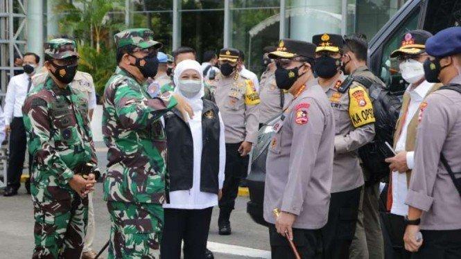 Kapolri Optimistis pada Agustus Jawa Timur Capai Kekebalan Komunal