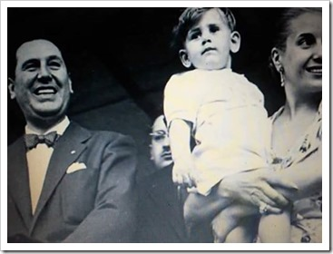 Papa Francisco con Eva Perón