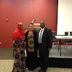 Dr. Barro, Professor Bowen, and Provost Adesida at African Students Organization Spring Forum, 2013