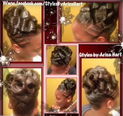 Crimped hairstyles for black women, black hairstyles, crimped hairstyles