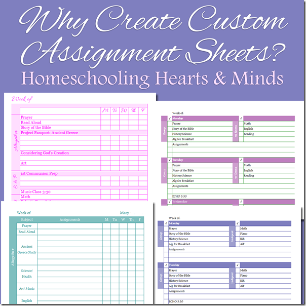Why Create Your Own Custom Assignment Pages?