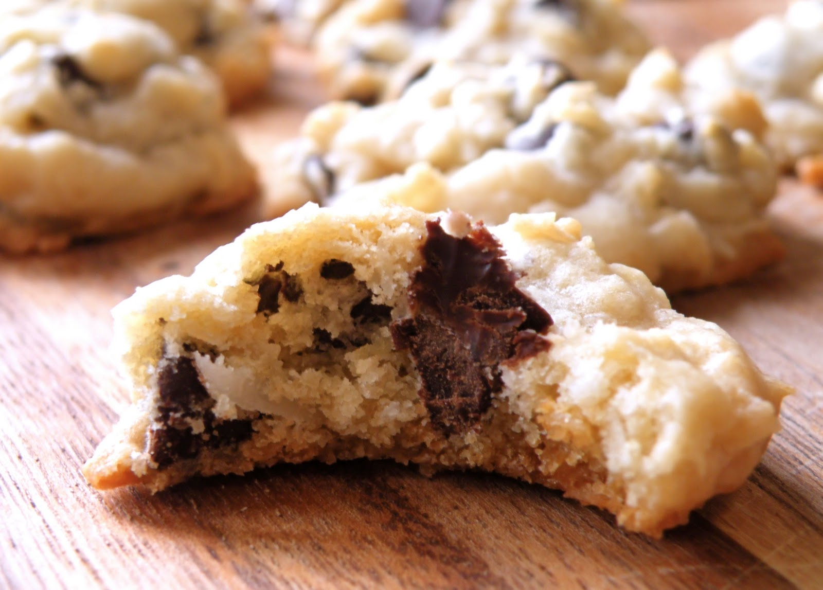 Vittles and Bits: Chocolate Chip Coconut Cookies