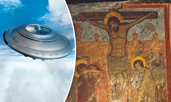 Os alienígenas estavam na Crucificação de Jesus 01