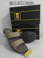 sandal kulit asli pria