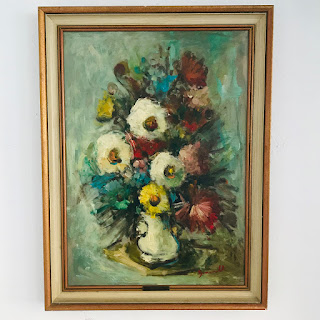 Giusi Boncinelli Signed Oil Painting