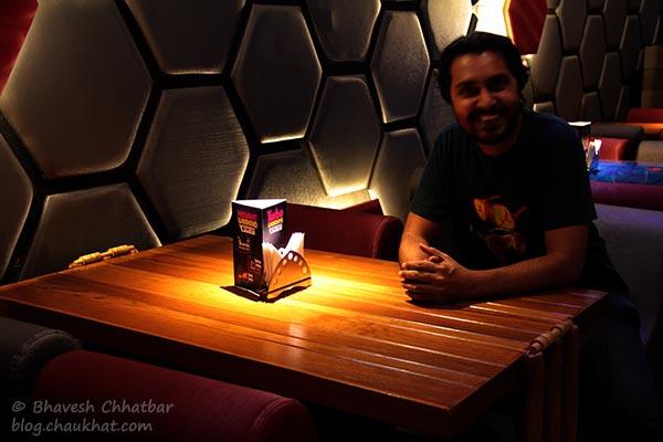 Bhavesh Chhatbar at Toss Sports Lounge Koregaon Park