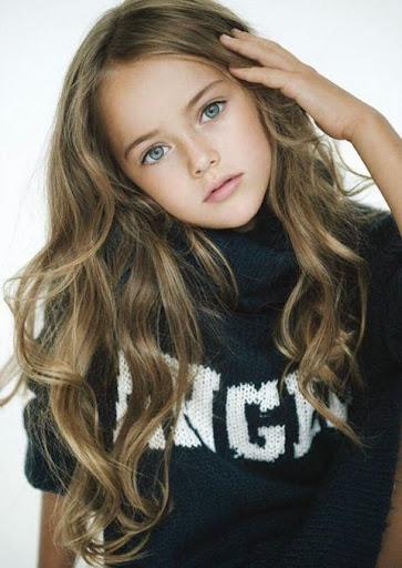 世界最美少女 9歲超嫩模