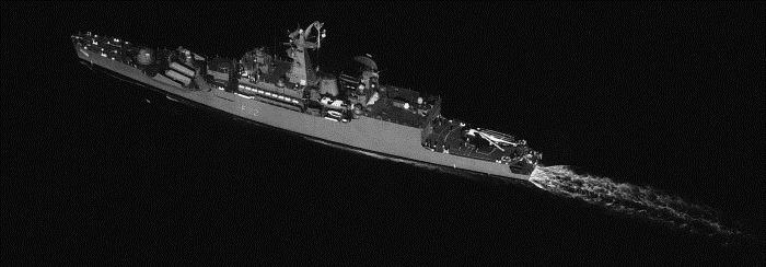 INS Ganga - F22 - Missile Frigate - Indian Navy - 01-TN