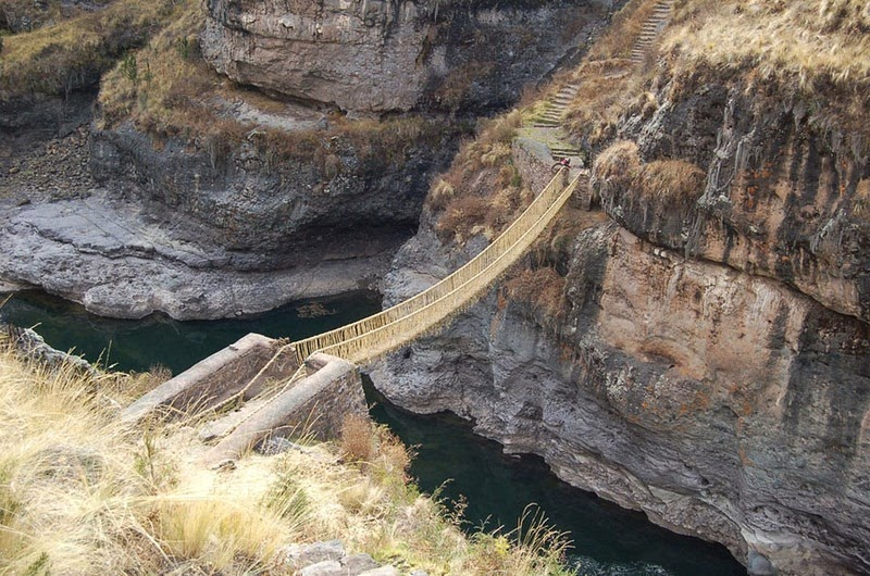 inca rope bridge - photo #15