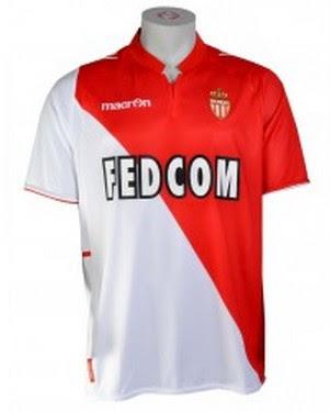 Jual Jersey AS Monaco Home Terbaru 2014