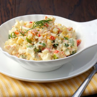 Easy Crab Salad.