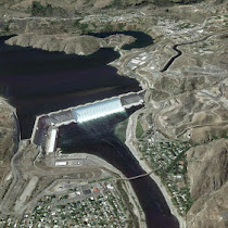 Grand Coulee features shaped by the Ice Age Floods (GoogleEarth views)