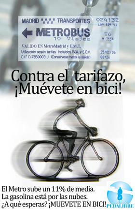 La bicicleta, el mejor método para evitar el tarifazo del Metro